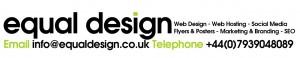 Equal design web designer leyland preston