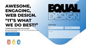 Equal web design Preston
